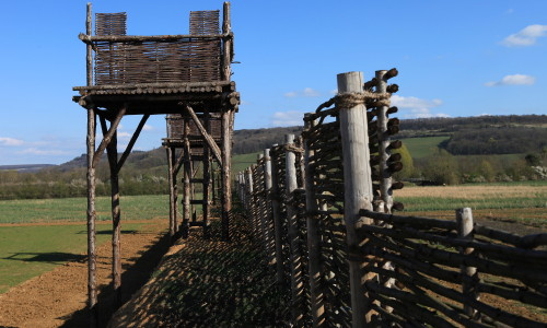 lignes fortifications romaines bois, Photos, Reconstitutions, Animations
